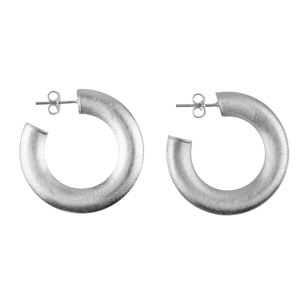 I found this at #moonandlola! - Serena Hoops Extra Small