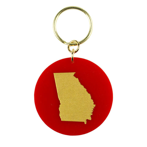 Brass South Carolina Necklace