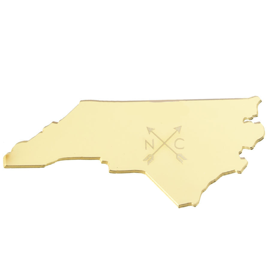 I found this at #moonandlola! - Engraved Arrow State Wall Art