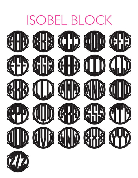 Moon and Lola - Isobel Block Chart