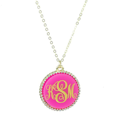 I found this at #moonandlola! - Vannes Monogram Necklace