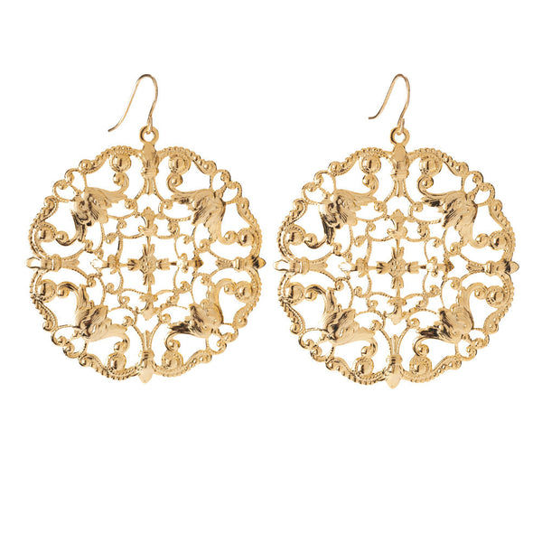 I found this at #moonandlola! - Versailles Earrings