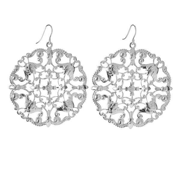 Moon and Lola - Versailles Earrings Sterling Silver