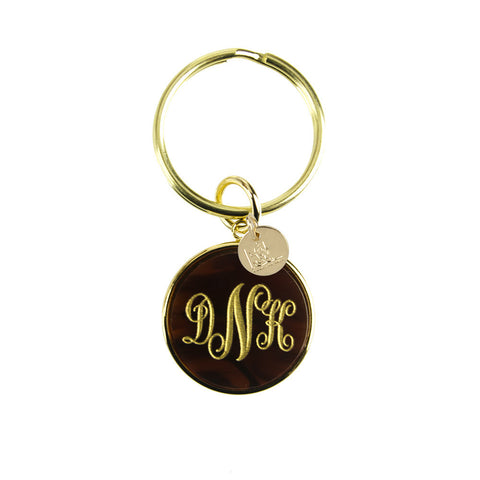 "Sample ""MKP"" Modern Block Keychain"