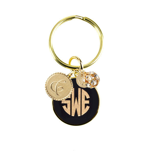 I found this at #moonandlola! - Vineyard Keychain with Charms