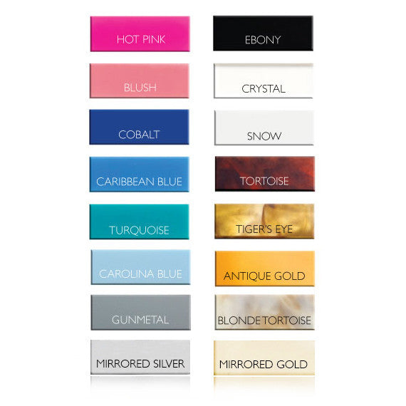 I found this at #moonandlola! - Wedding Party Acrylic Colors