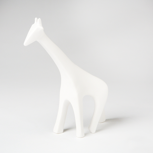 I found this at #moonandlola! - Ceramic Giraffe White