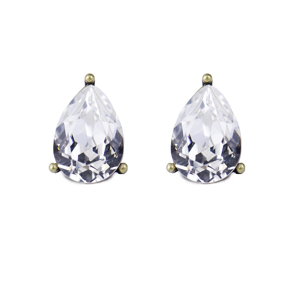 I found this at #moonandlola! - Windsor Studs Silver Shade