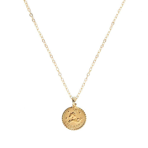 I found this at #moonandlola! - Zodiac Charm Necklace
