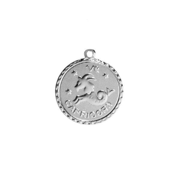 Moon and Lola - Zodiac Charm Sterling Silver