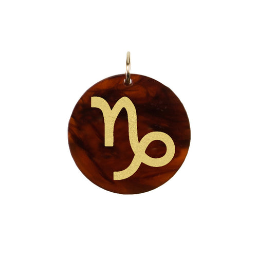 I found this at #moonandlola! - Acrylic Zodiac Symbol Charm