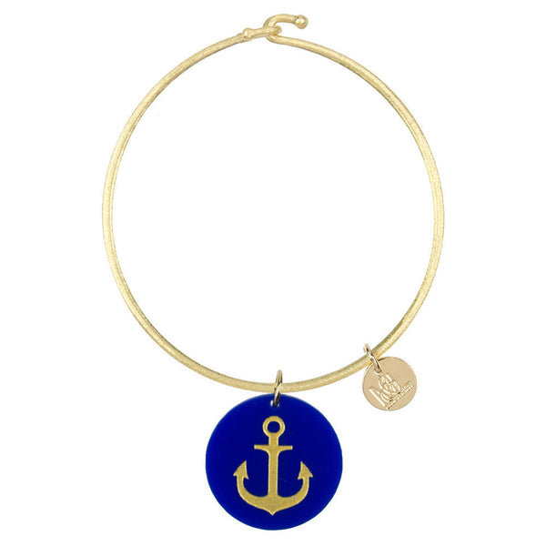 Moon and Lola - Eden Anchor Charm on Nora Bangle