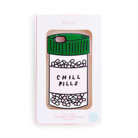I found this at #moonandlola! - Bando Chill Pills iPhone Case