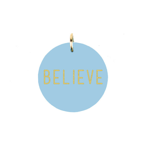I found this at #moonandlola! - Believe Charm