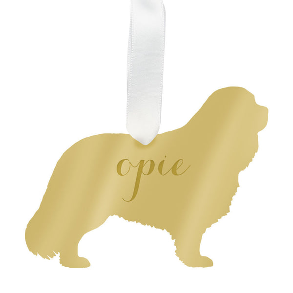 I found this at #moonandlola! - Personalized Cavalier King Charles Spaniel Ornament