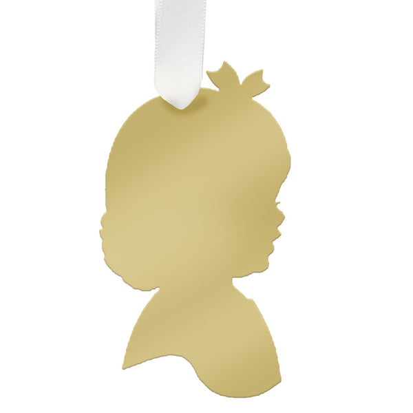 Moon and Lola - Charlotte Ornament Mirrored Gold