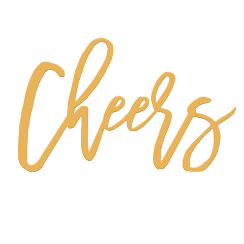Sample - Cheers Cake Topper