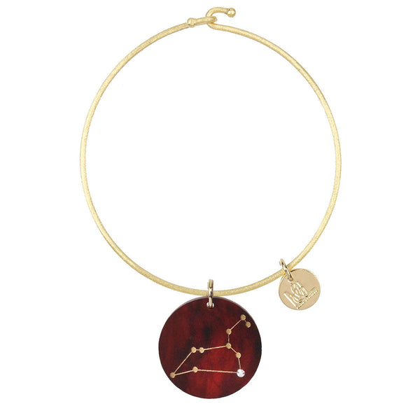 Moon and Lola - Constellation Charm on Nora Bangle