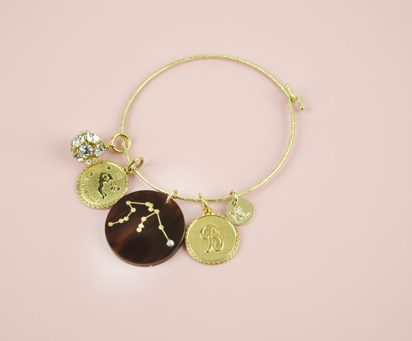 Moon and Lola - Constellation Charm Bangle