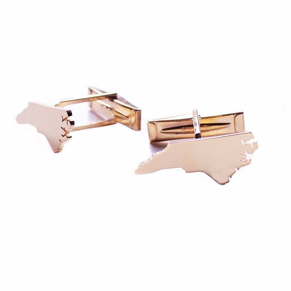 I found this at #moonandlola - Metal State Cuff Links
