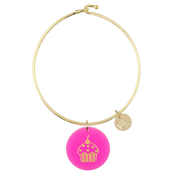 I found this at #moonandlola! - Eden Cupcake Charm Bangle