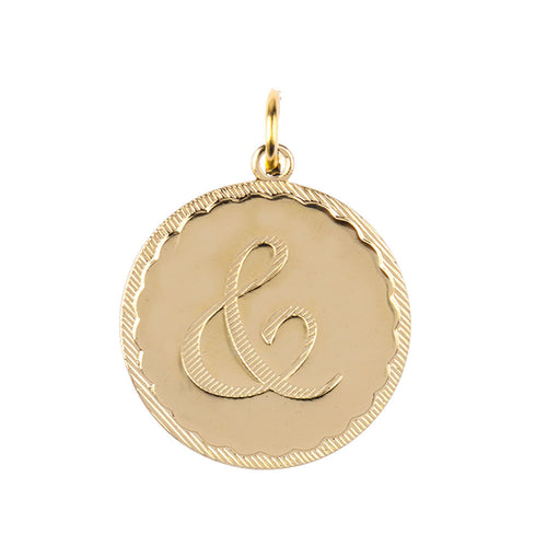 I found this at #moonandlola! - Metal Dalton Ampersand Charm