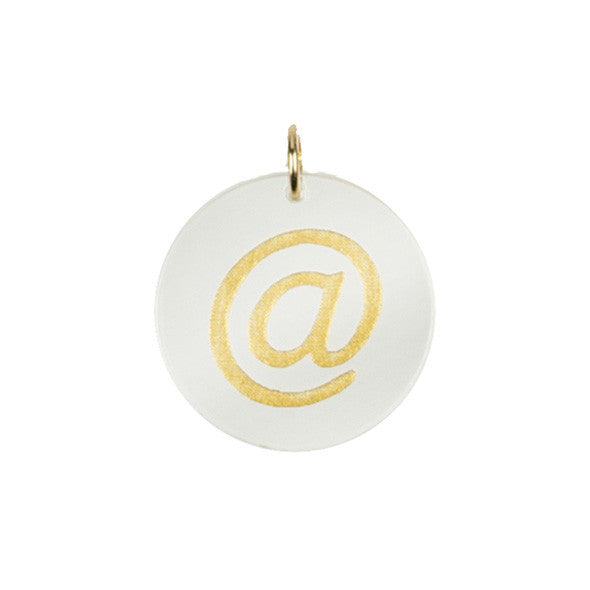 I found this at #moonandlola! - Eden At Sign Charm