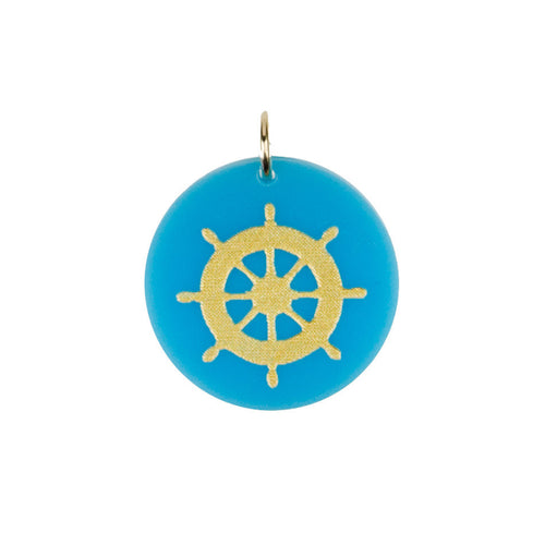 I found this at #moonandlola! - Eden Boat Wheel Charm