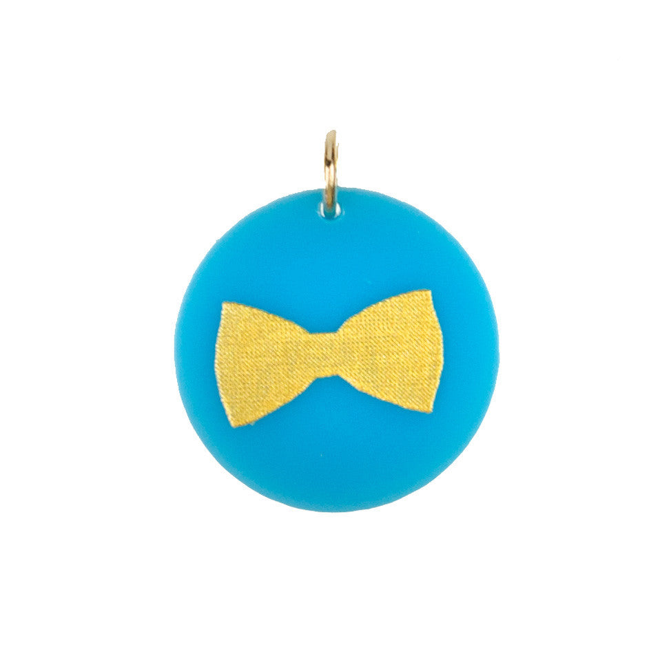 I found this at #moonandlola! - Eden Bow Tie Charm