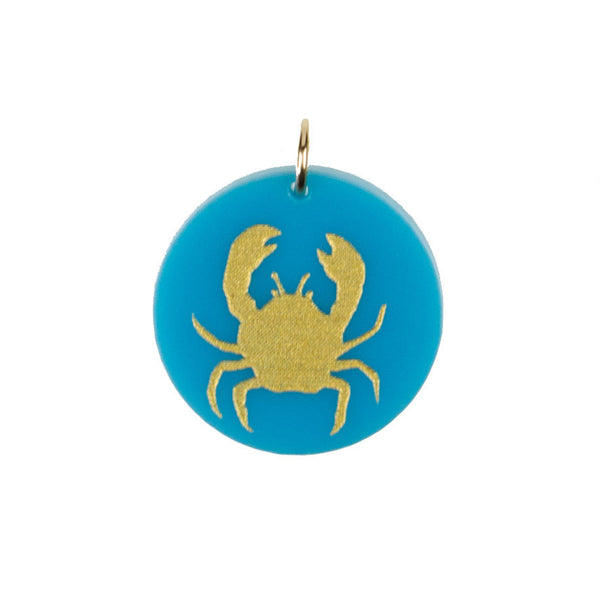 Moon and Lola - Eden Crab Charm