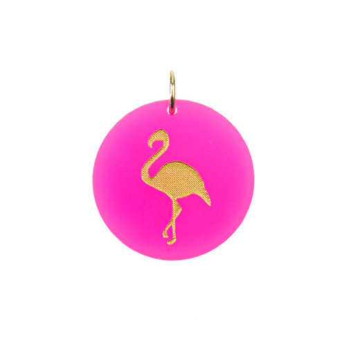 I found this at #moonandlola! - Eden Flamingo Charm