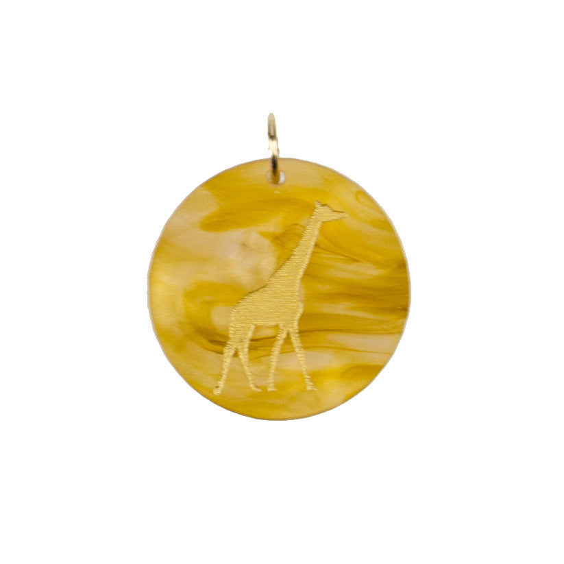 I found this at #moonandlola! - Eden Giraffe Charm
