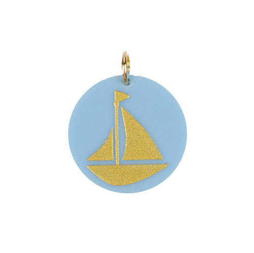 I found this at #moonandlola! - Eden Sailboat Charm