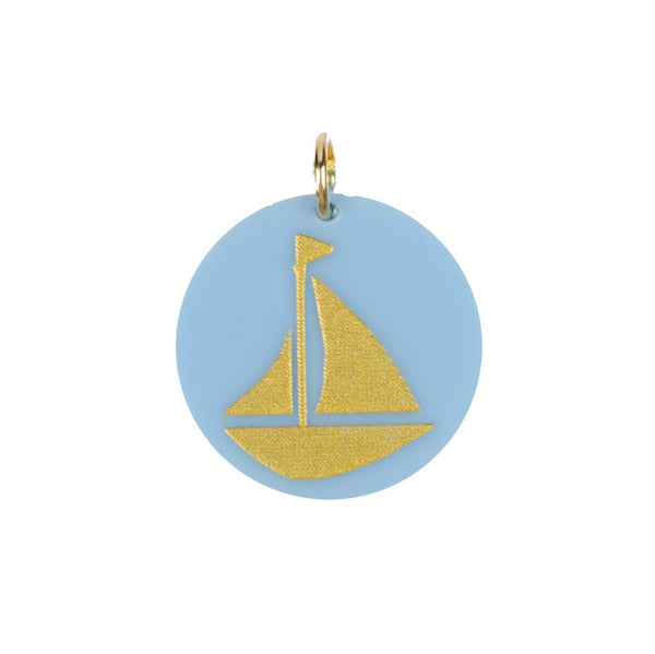 Moon and Lola - Eden Sailboat Charm