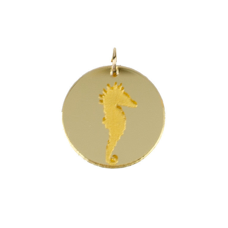 I found this at #moonandlola! - Eden Seahorse Charm