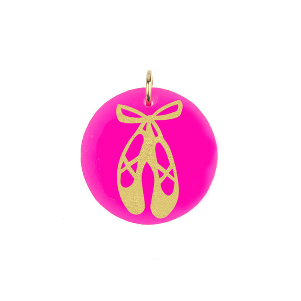 I found this at #moonandlola! - Eden Ballet Slippers Charm
