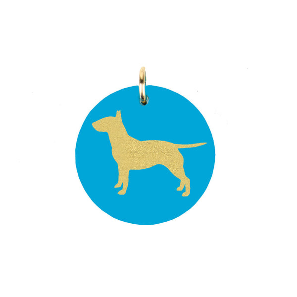 I found this at #moonandlola! - Bull Terrier Charm