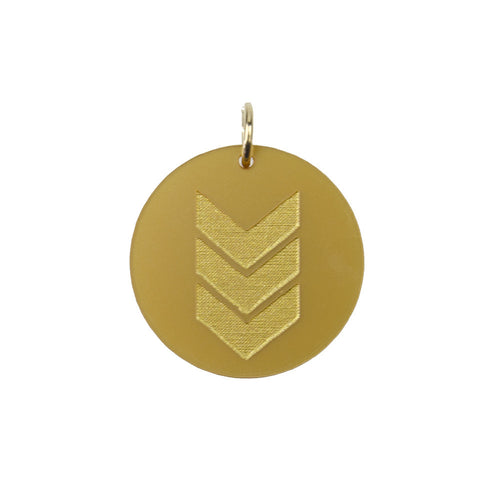 I found this at #moonandlola! - Eden Chevron Charm