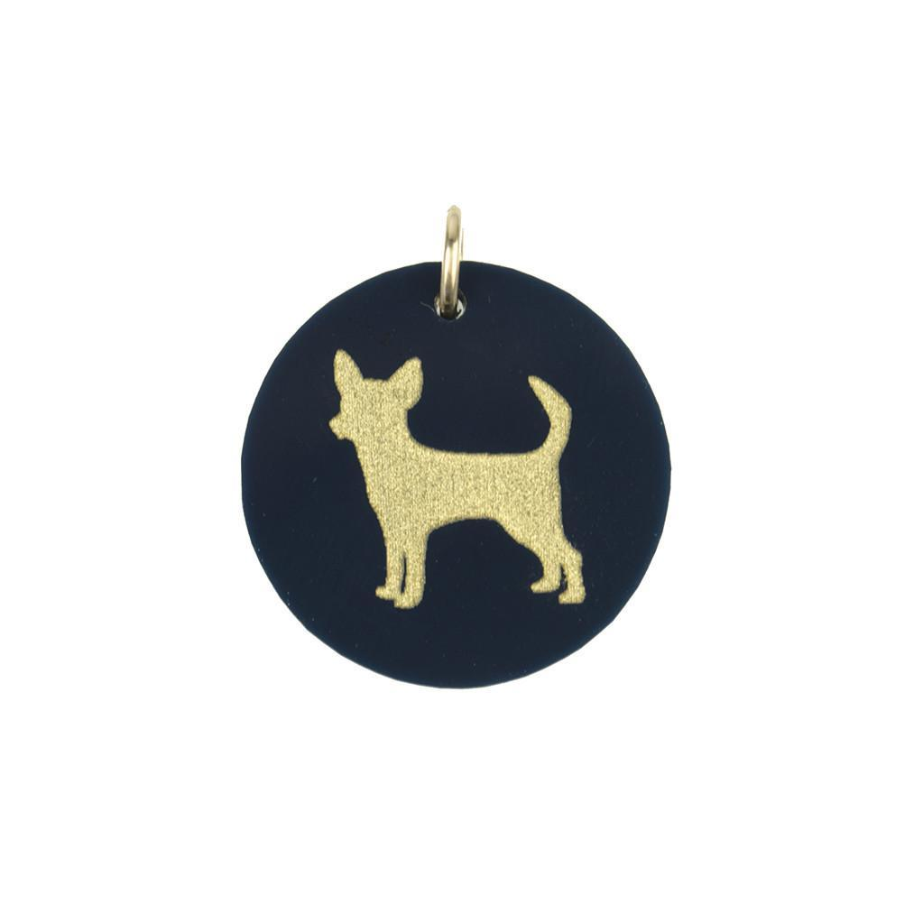 Moon and Lola Chihuahua Pet Charm