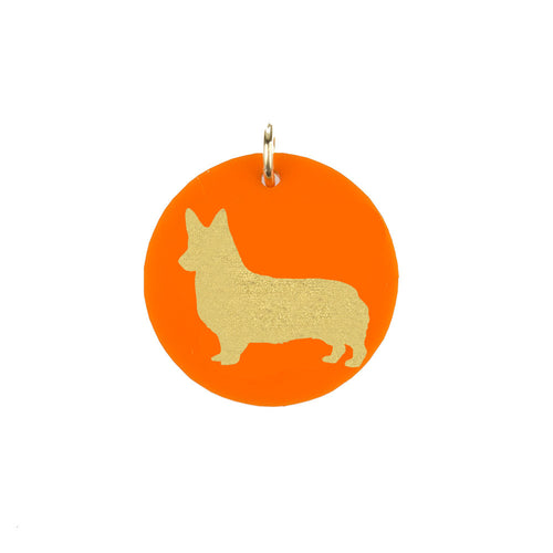I found this at #moonandlola! - Corgi Charm