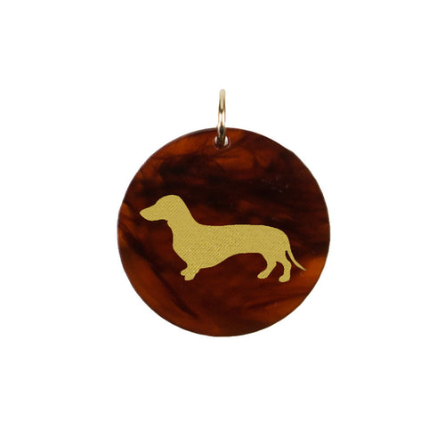 I found this at #moonandlola! - Eden Dachshund Charm