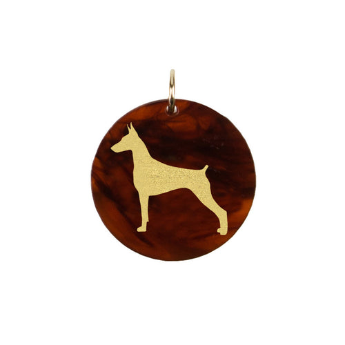 I found this at #moonandlola! - Doberman Pinscher Charm