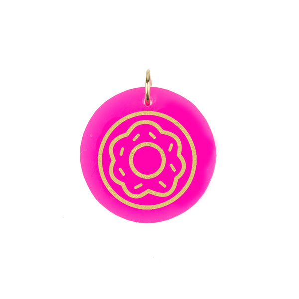 I found this at #moonandlola! - Eden Donut Charm
