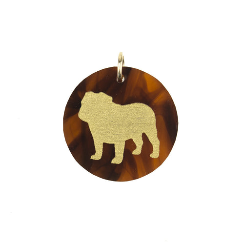 I found this at #moonandlola! - Eden English Bulldog Charm Tortoise