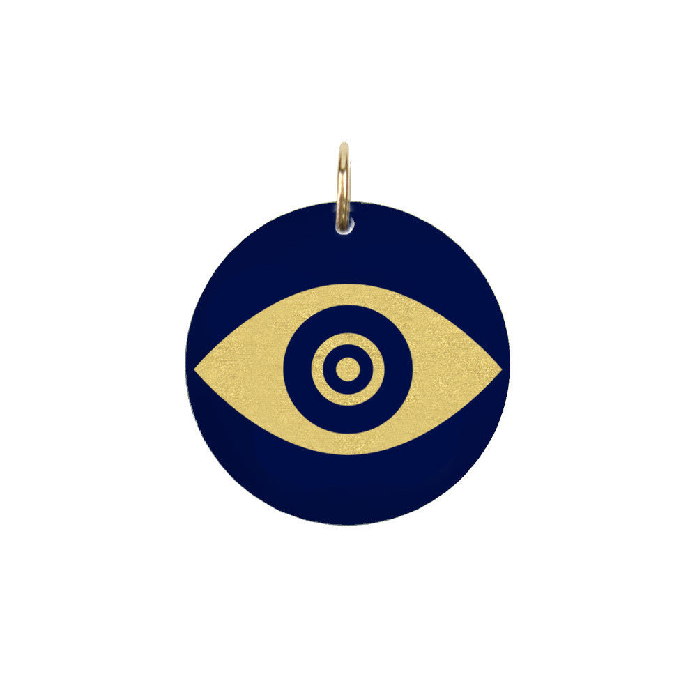 I found this at #moonandlola! - Eden Evil Eye Charm
