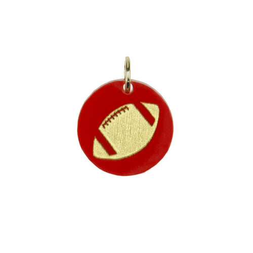 I found this at #moonandlola! - Eden Football Charm