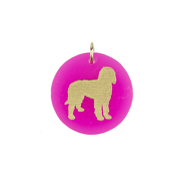 I found this at #moonandlola! - Eden Goldendoodle Charm Hot Pink