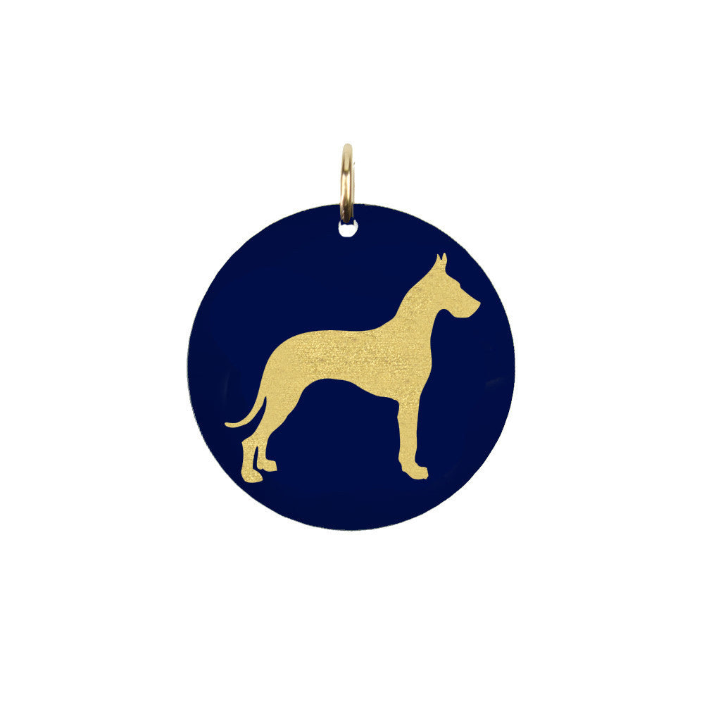 I found this at #moonandlola! - Great Dane Charm