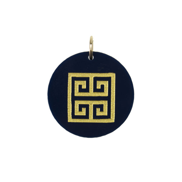 I found this at #moonandlola! - Eden Greek Key Charm