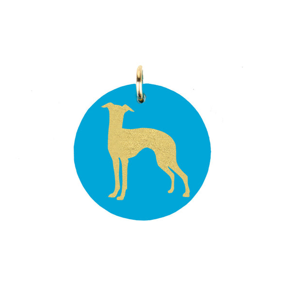 I found this at #moonandlola! - Whippet Charm